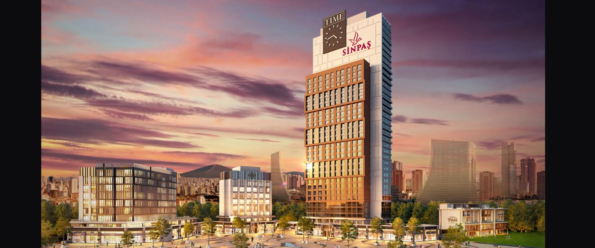 SINPAS FINANS SEHIR PROJECT TIME STAGE | Aslı Architecture