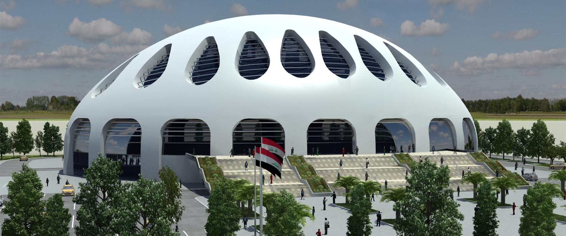 BAGHDAD SPORT COMPLEX  ( 5.000 CAPACITY ) | Aslı Architecture